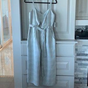 NWT Charlotte Russe Wide Leg Jumpsuit with Cutout